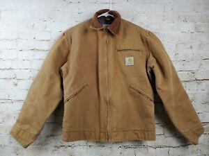 Carhartt Kids Jacket Canvas Brown Large Fleece Lined