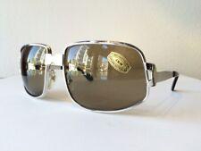 "NOS Unused 1980s Vintage Neostyle Men's ""Elvis"" Style Silver Sunglasses"
