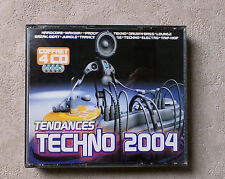 "CD AUDIO MUSIQUE INT / VARIOUS ""TENDANCE TECHNO 2004"" COFFRET 4XCD COMPILATIONS"