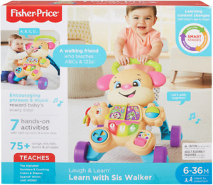 Fisher-Price Laugh & Learn Smart Stages Learn with Sis Walker 6-36 Months (New)