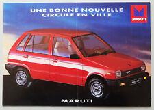 V14237 MARUTI 800 (ALTO) - DEPLIANT - NON DATE - A4 - FR FR