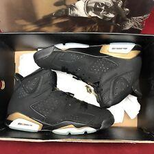 Nike Air Jordan Retro VI DMP Defining Moments Black Gold Size 11 136038 071 XI