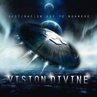 """VISION DIVINE """"DESTINATION SET TO NOWHERE""""  CD NEU"""