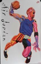 Michael Jordan-Air Jordan, Original Nike Poster, 1993,  FREE INT.SHIPPING