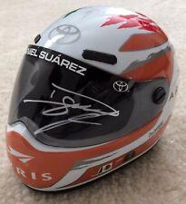 DANIEL SUAREZ Signed Autographed ARRIS Mini Helmet, JSA