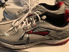Sweet Pair Of Brooks Adrenaline GTS Red Men's Athletic Shoes SZ 14!