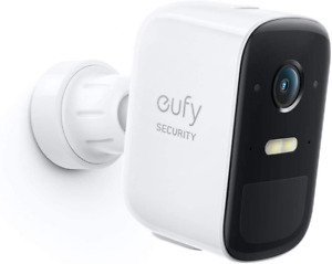 eufy Security, eufyCam 2C Pro Wireless Home Security Add-on Gray+White
