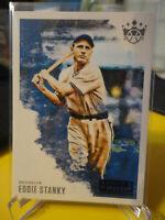 2020 Diamond Kings #30 Eddie Stanky Blue artist proof - Brooklyn Dodgers