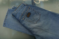 WRANGLER Kathy Damen Jeans Hose 70 er 28/30 W28 L30 blau stonewashed TOP C54