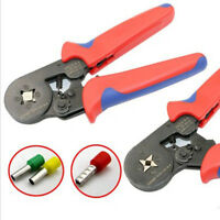 Crimping Plier Ratchet Self Adjust Wire Fashion Stripper AWG23-10 0.25-6mm²