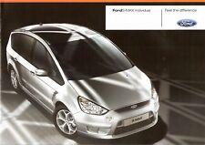 Prospekt / Brochure Ford S-Max Individual 03/2008