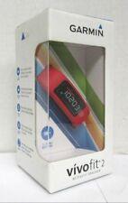 Garmin Vivofit 2 Bluetooth Activity Tracker Fitness Band (Red)