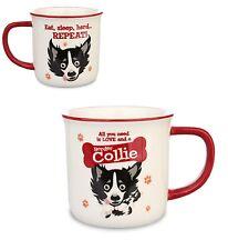 I/'M WALKING MY BORDER COLLIE Novelty//Funny Printed Coffee Mug Gift//Present 355