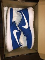 Nike Roshe Run Blue Size 10