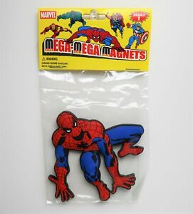 "Mega Mega Magnets: Marvel SPIDERMAN (Big - 4"") from PopFun - Series 1 - NEW -"