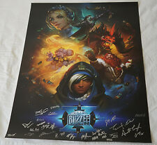 Blizzcon 2016 Exclusive Key Art Signed Poster