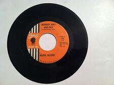RARE NORTHERN SOUL - HANK JACOBS - MONKEY HIPS AND RICE - 45 RPM -(ORIGINAL)  VG