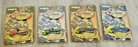 Lot of 4 2000 ERTL X-treme Power Sports Diecast Vehicles Snowmobiles 36551