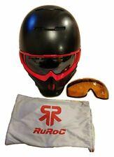*Ruroc Black/Red RG1 Ski/Snowboarding Helmet M/L