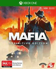 Mafia Definitive Edition Xbox One Video Game Online Interactivity Entertainment