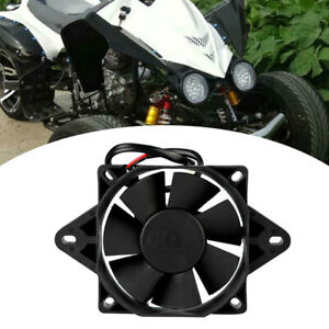 6 Inch 12V Motorcycle ATV Radiator Cooling Cooler Electric Fan Radiator Fans