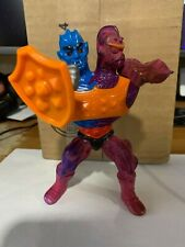 Vintage 1984 He-Man Masters of The Universe Two Bad Figure Complete Flat Back