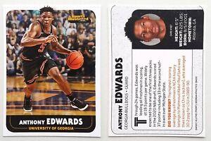 ANTHONY EDWARDS 2020 rare oddball rookie card TIMBERWOLVES basketball SI Kids