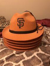 2014 New SF Giants SGA Oktoberfest Hat w/ feathers cap fedora not cowboy cap