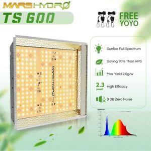 New ListingMars Hydro Ts 600W Led Grow Light Full Spectrum for Indoor Home Plant Veg Flower