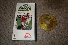 FIFA International Soccer (Panasonic 3DO, 1994) with Long Box