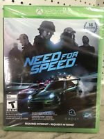 Need for Speed Microsoft Xbox One Brand New Factory Sealed XB1 Racing Video Game