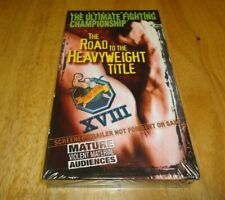 UFC XVIII 18  - The Road to the Heavyweight Title (VHS) Ortiz Brand New Sealed.
