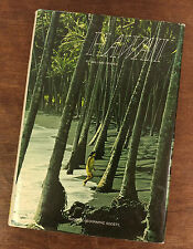 "1970 ""Hawaii"" The National Geographic Society William Graves Book Includes Map"