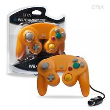 Nintendo Game Cube and Wii Wired Controller Orange