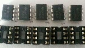 10Pcs lm358dr smd amplifier dual operational amplifiers sop8 lm358 WR