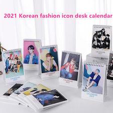 2021 new desk calendar BLACKPINK EXO GOT7 TWICE NCT TREASURE STRAY KIDS calendar