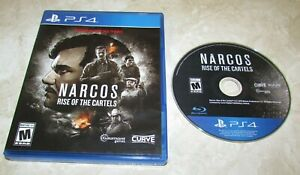 Narcos - Rise of The Cartels for Playstation 4 PS4 Fast Shipping!