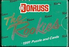 1991 Donruss 56-card The Rookies Factory Sealed Baseball Set  Jeff Bagwell