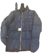 Girls Navy Coat Age 9-10