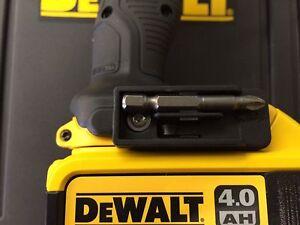 Dewalt Cordless Drill Driver XR Bit Holder & Screw DCD985 DCD990 DCD995 DCF815