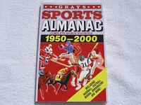 GRAYS SPORTS ALMANAC-156 PAGE BOOK-BACK TO THE FUTURE 2 II PROP BTTF DELOREAN!!!