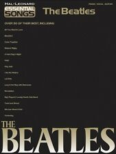 Essential Songs The Beatles Sheet Music Piano Vocal Guitar SongBook NE 000311389