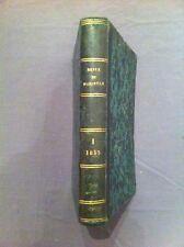 Revue de Marseille. Première année. 1855