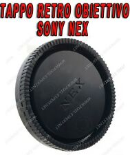 TAPPO RETRO OBIETTIVO PER SONY NEX 18-55MM A7 A7R NEX-7 NEX-6 NEX-5 NEX-3