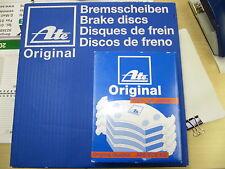 ATE discos de freno y pastillas AUDI A4 B6/B7 Kit para traseras 288x12mm