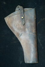 Ww1 British Canadian Bef Cef Open Top Leather Holster 2