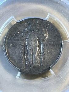 1927-S US Standing Liberty Quarter Graded VG8 by PCGS!! Low Mintage!!