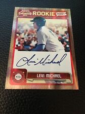 Levi Michael Twins  2011 Playoff Contenders Rookie Ticket Auto #RT40