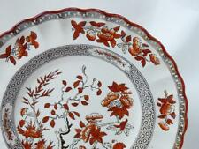 "Copeland Spode India Tree Salad Plate 7-3/4"" Orange Rust Scallop Old Backstamp"