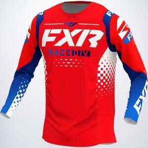 FXR Racing Revo LE MX Vented Jersey Moto ATV Red Motocross Free Shipping
